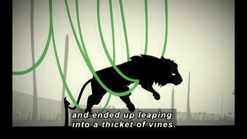 Still image from: The Lion & The Mouse