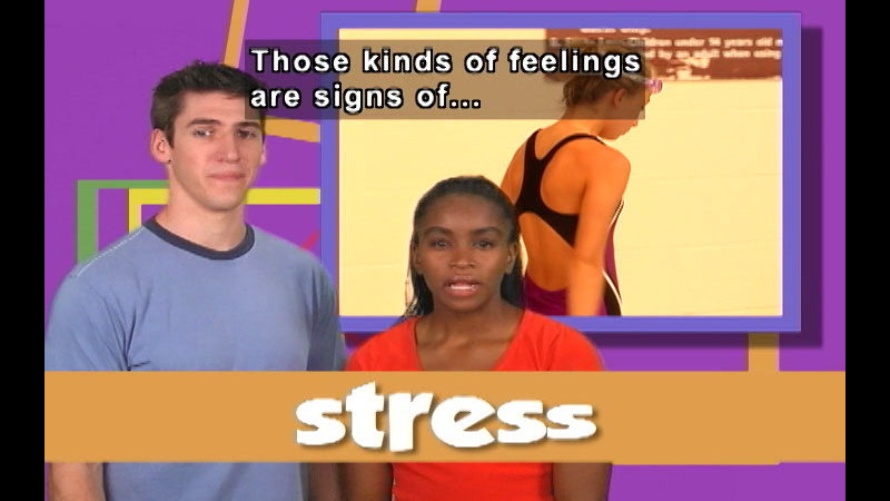Still image from: The Emotion Commotion: Stress Mess