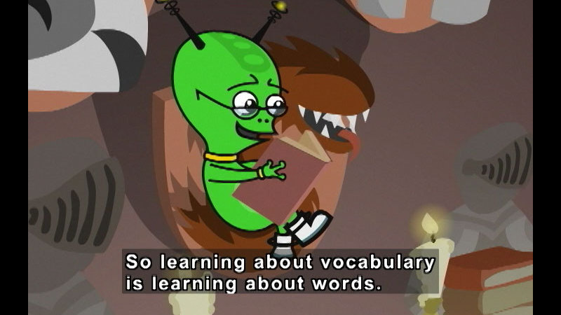 Still image from: Word Parts