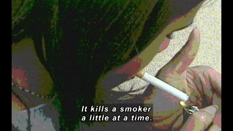 Still image from: Alcohol, Tobacco, Marijuana