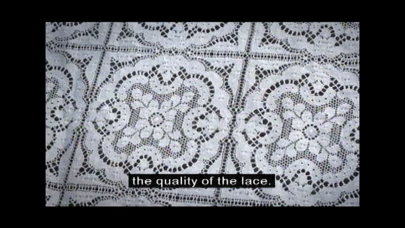Still image from Nottingham Lace