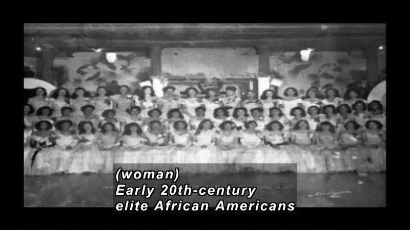 Still image from: Girls In White Dresses