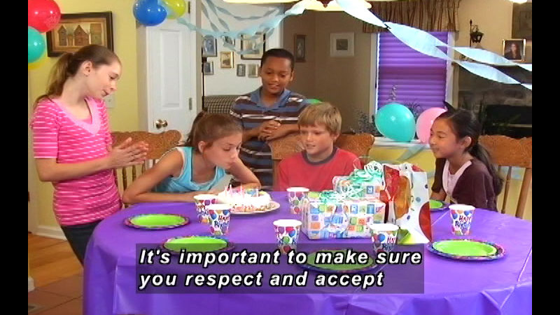 Still image from: What's Respect? We're All Different