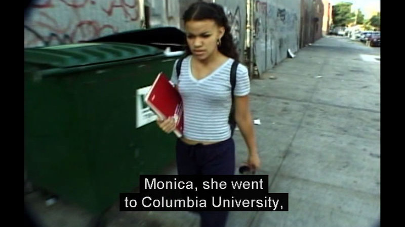 Still image from My American Girls: A Dominican Story