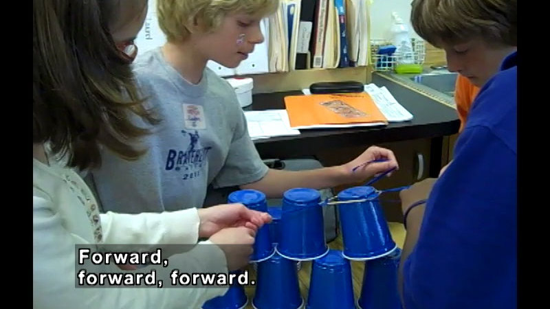 Still image from: Great Cup Stack Challenge