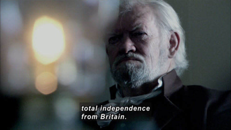 Still image from: America the Story of Us: Revolution