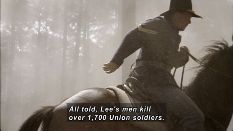 Still image from America the Story of Us: Civil War