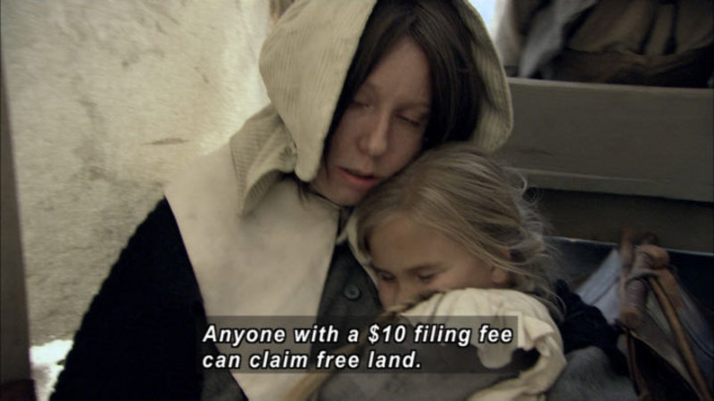 Still image from America the Story of Us: Heartland