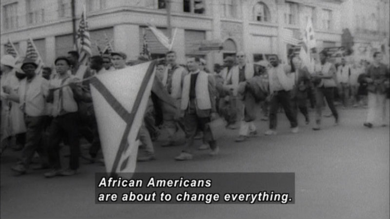 Still image from America the Story of Us: Superpower