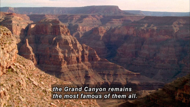 Still image from How the Earth Was Made: The Grand Canyon