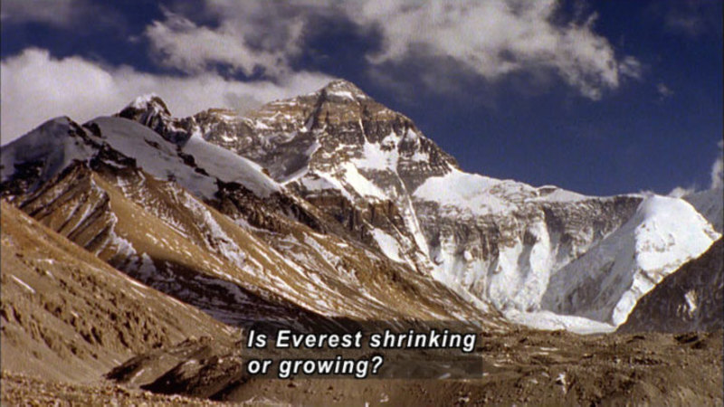 Still image from How the Earth Was Made: Everest