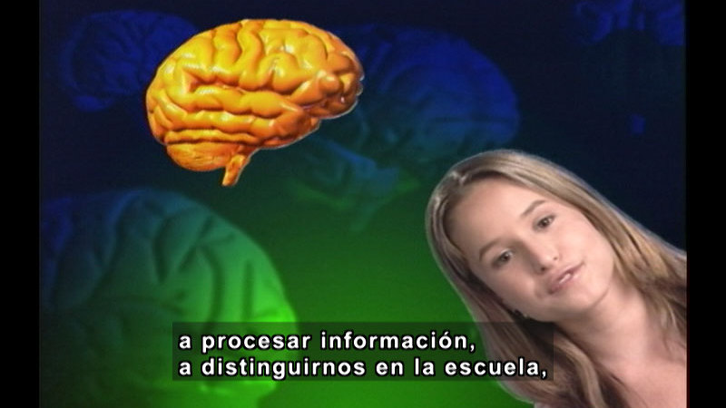 Still image from Getting Stupid: How Drugs Damage Your Brain (Spanish)