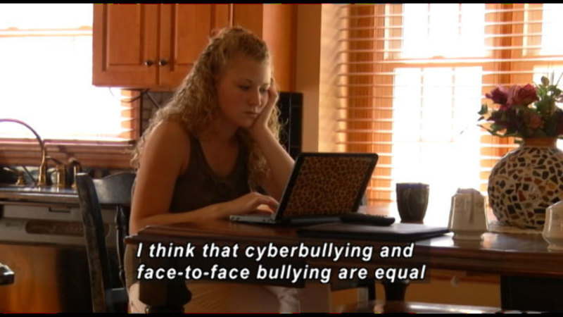 """Still image from: Me And My 500 """"Friends"""": Staying Safe On Social Networks"""