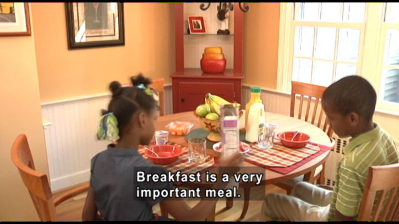 Still image from: MyPlate And You: Learning About Nutrition, Health, And Exercise