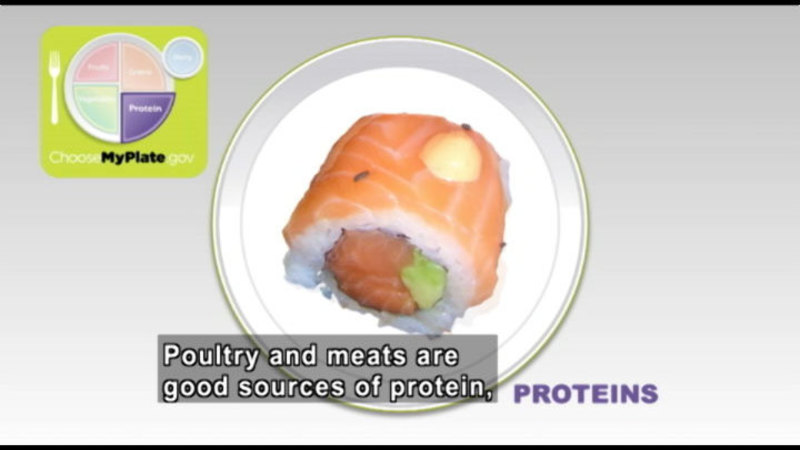 Still image from: My Plate, My Health: The Newest Dietary Guidelines