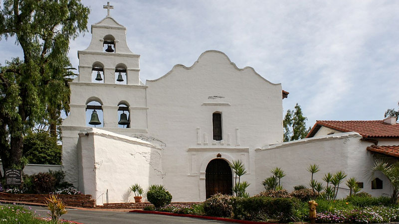 Still image from: Missions Of California Series: Mission San Diego De Alcala