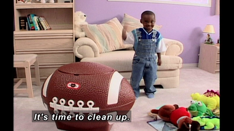 Still image from: Life Skills 4: Household Chores