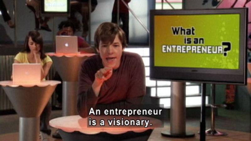 Still image from: Biz Kid$: Introducing Entrepreneurs
