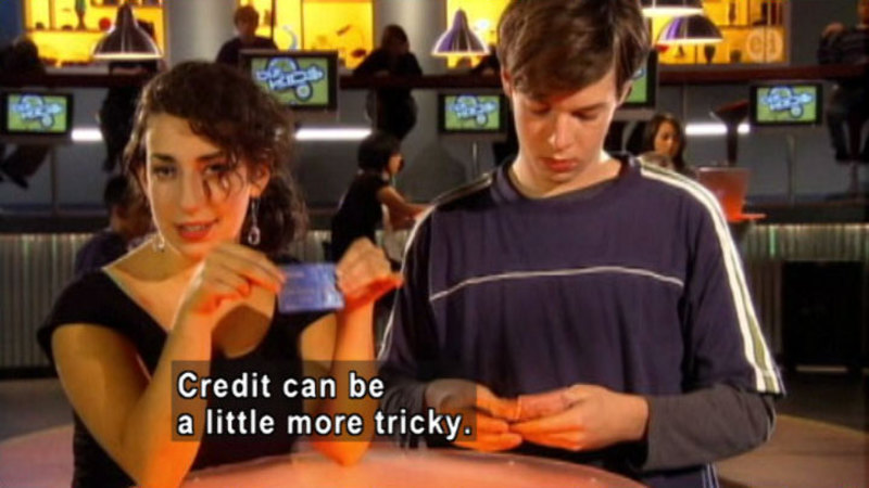 Still image from: Biz Kid$: Using Your Credit--Crazy Or Compelling