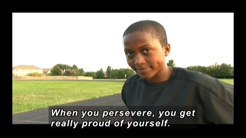Still image from: Amazing Kids Of Character: Perseverance