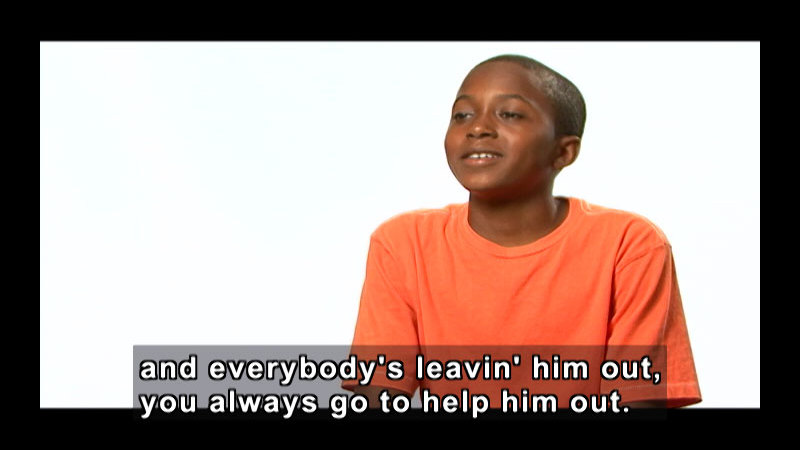 Still image from: Amazing Kids Of Character: Empathy