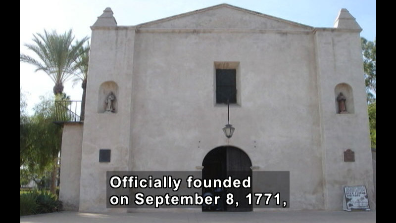 Still image from: Missions Of California Series: Mission San Gabriel