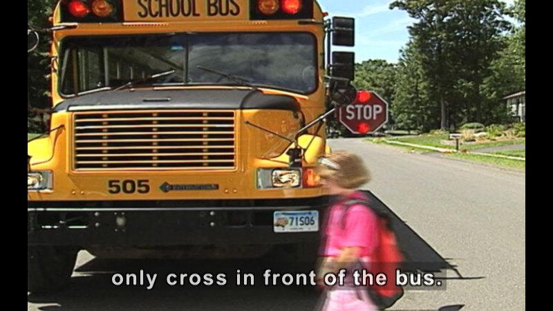 Still image from School Bus Safety