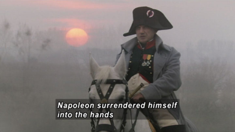 Still image from: Napoleon At Waterloo: The Battle For Europe