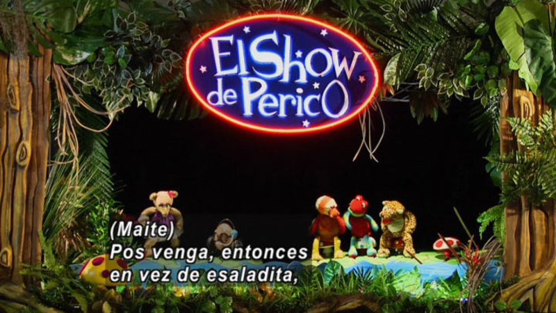 Still image from The Parakeet Show - Public And Private (Spanish)