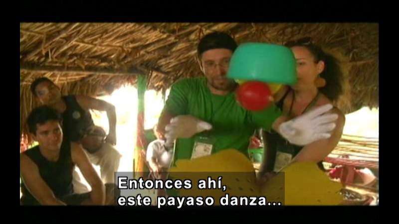 Still image from: Colombia Express:  Ethnic Roots International Theatre Festival Part I (Spanish)