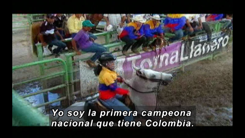 Still image from Colombia Express: International Joropo Tournament (Spanish)
