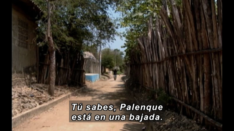 Still image from Recalling The Past- A Story Of Freedom,  Bolivar - San Basilio De Palenque (Spanish)