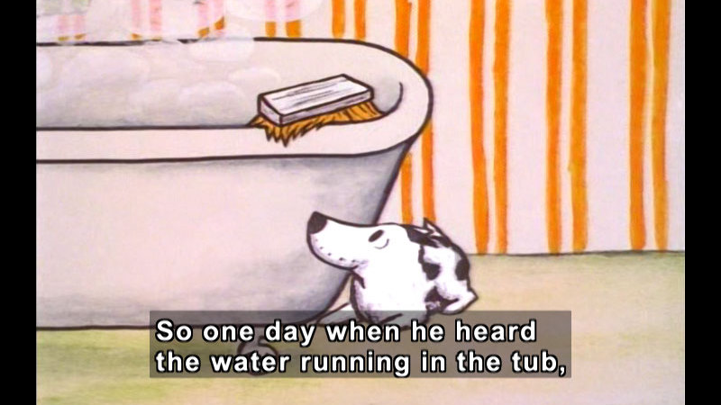 Still image from: Harry The Dirty Dog
