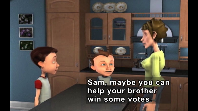 Still image from: Ameriquest Kids: Your Right To Vote