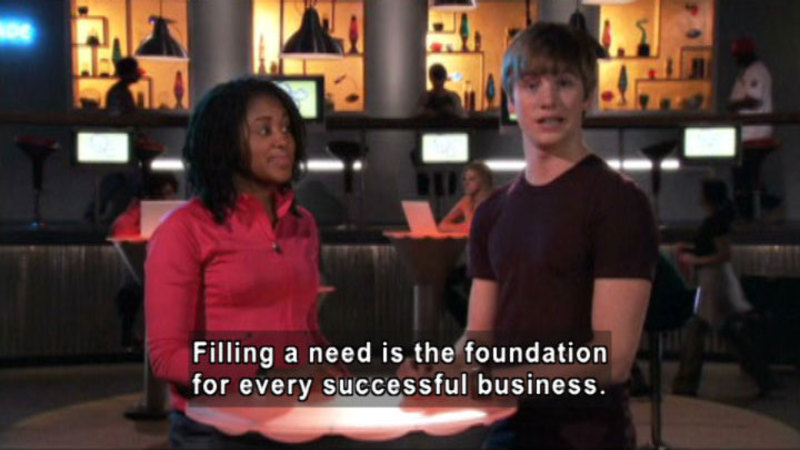 Still image from: Biz Kid$: How To Succeed In Biz-Ness By Really Trying!