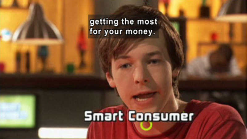 Still image from: Biz Kid$: How To Be A Smart Consumer