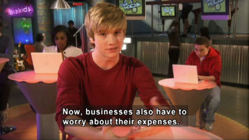 Still image from Biz Kid$: Understanding Income And Expense