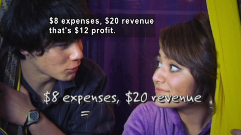 Still image from Biz Kid$: Money Math-Who Needs It?
