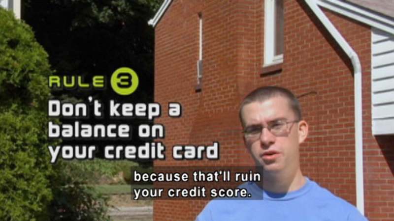 Still image from: Biz Kid$: How Credit Affects Your Life