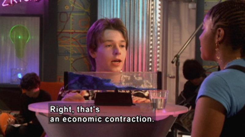 Still image from: Biz Kid$: Economic Cycles