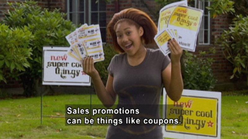 Still image from: Biz Kid$: The Marketing Mix