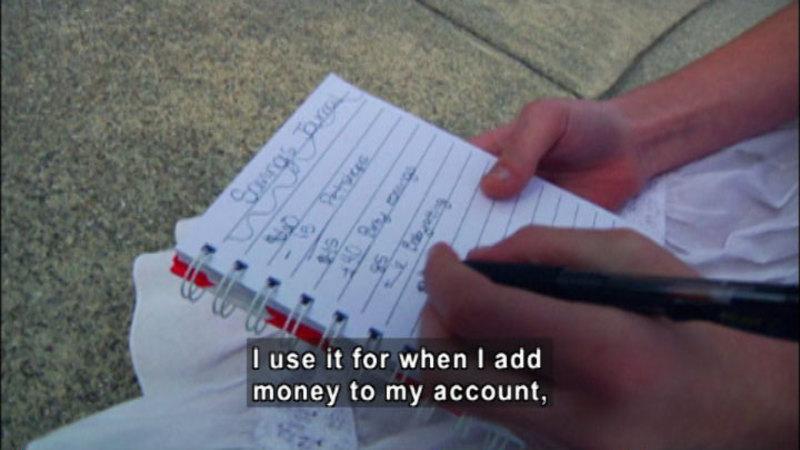 Still image from: Biz Kid$: Where's My Allowance?