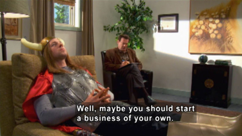 Still image from: Biz Kid$: Crash Course On Starting A Business