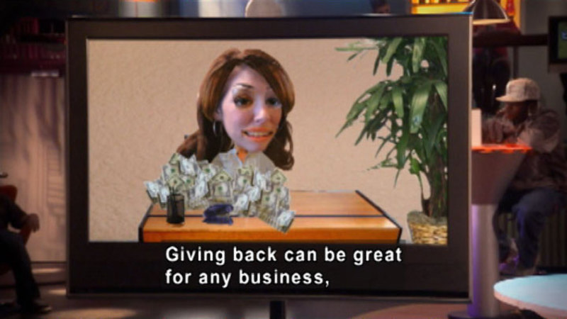 Still image from Biz Kid$: Businesses That Give Back