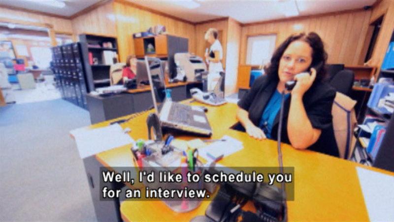 Still image from: Biz Kid$: It's A Job Getting A Job!