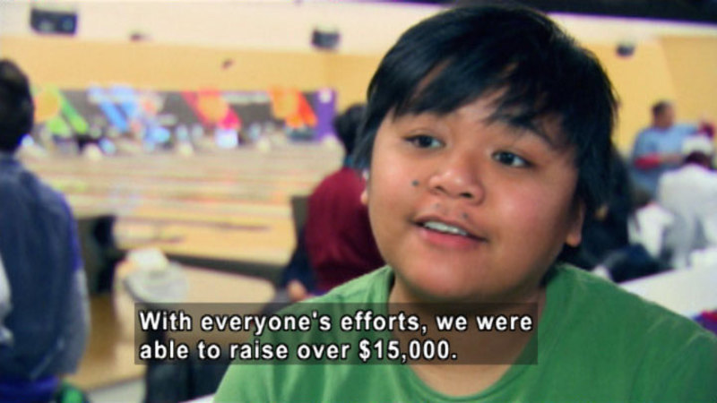 Still image from: Biz Kid$: Fundraising Can Be Fun