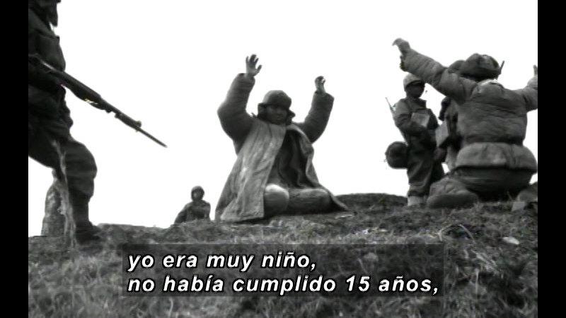 Still image from Vox Populi-War (Spanish)