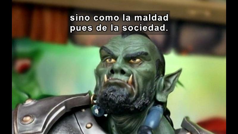 Still image from: Vox Populi-Ugly (Spanish)