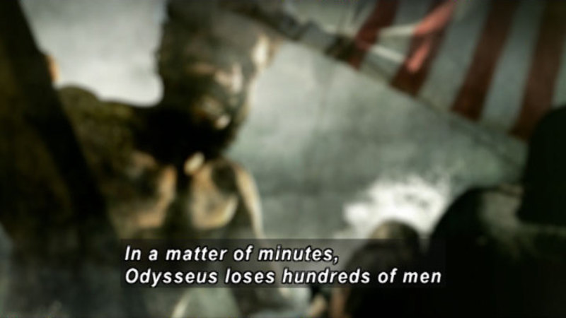 Still image from Odysseus: Curse of the Sea