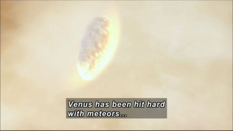 Still image from The Universe: Mercury and Venus, the Inner Planets